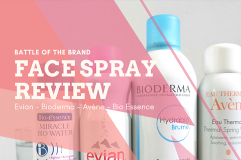 BATTLE OF THE BRAND : FACE SPRAY (REVIEW)
